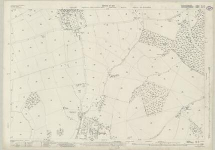 Buckinghamshire VII.12 (includes: Biddlesden; Syresham) - 25 Inch Map