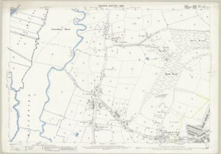 Essex (1st Ed/Rev 1862-96) LVII.14 (includes: Chingford; Waltham Holy Cross) - 25 Inch Map