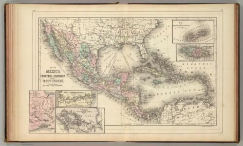 Mexico, Central America, West Indies.