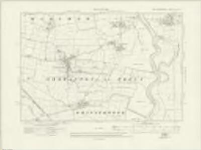 Nottinghamshire XX.SE - OS Six-Inch Map