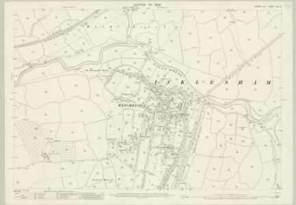 Sussex XLV.14 (includes: Icklesham; Udimore) - 25 Inch Map