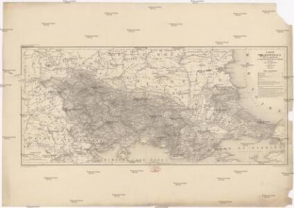 Carte de la Thrace d'une partie de la Macédoine et de la Moesie