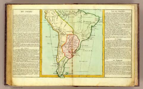 Perou, Chili, Amazones, Bresil, Paraguay.