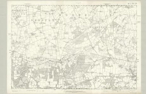 Surrey XLII - OS Six-Inch Map