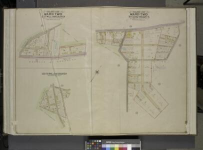 Queens, Vol. 2, Double Page Plate No. 27; Part of     Ward Two St. Williamburgh; [Map bounded by Vermont Ave., Crosby Ave.; Including  Highland Boulevard]; Part of Ward Two Nassau Hights; [Map bounded by Grand St.,  Maiden Lane, Firth Ave.; Including