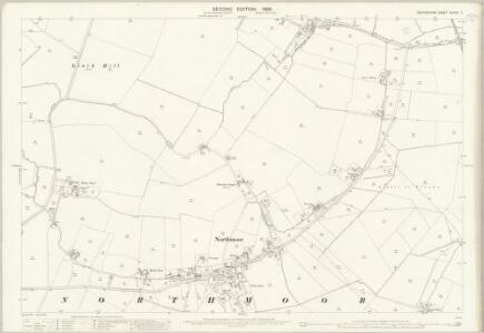Oxfordshire XXXVIII.7 (includes: Northmoor; Standlake; Stanton Harcourt) - 25 Inch Map
