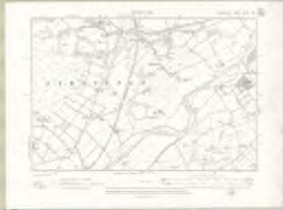 Lanarkshire Sheet XXXVIV.NE - OS 6 Inch map
