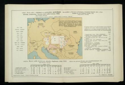 Uvoz robe i vrijednost za proiyvodnju upotrebljenih sirovina, polutvorina i tvorina kod većih tvornica 1912. Kralj. Hrvatska i Slavonija