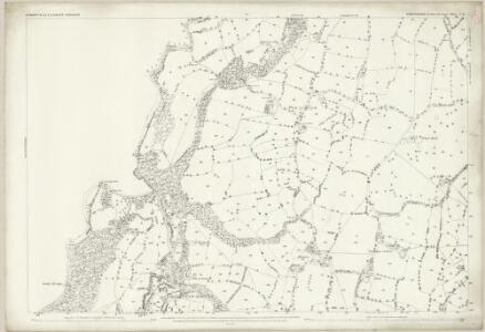 Shropshire V.11 (includes: Chirk; Ellesmere Rural; St Martins) - 25 Inch Map