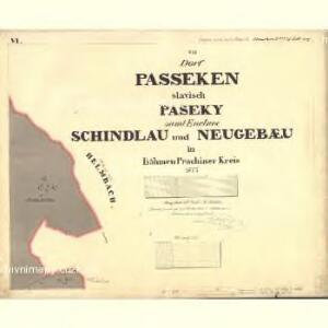 Passeken - c5642-1-009 - Kaiserpflichtexemplar der Landkarten des stabilen Katasters