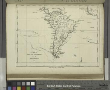 A map of South America and the adjacent islands, 1794.