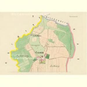 Czawin - c0808-1-001 - Kaiserpflichtexemplar der Landkarten des stabilen Katasters