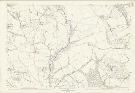 Worcestershire XII.10 (includes: Boraston; Coreley; Kington on Teme; Milson; Nash) - 25 Inch Map