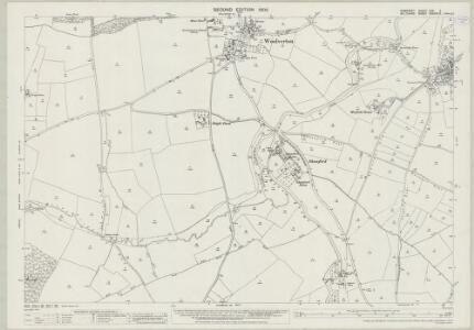 Somerset XXX.3 (includes: Beckington; Lullington; Rode; Tellisford) - 25 Inch Map