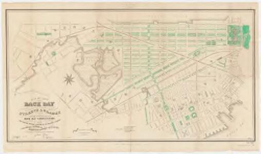 Plan of lands on the Back Bay : belonging to the Boston Water Power Co., the Commonwealth, and other parties, showing the system of streets & grades as laid out and recommended by the Back Bay Commissioners