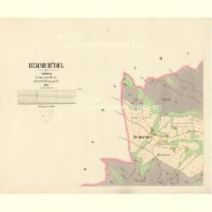 Hemmehübel - c3328-3-001 - Kaiserpflichtexemplar der Landkarten des stabilen Katasters