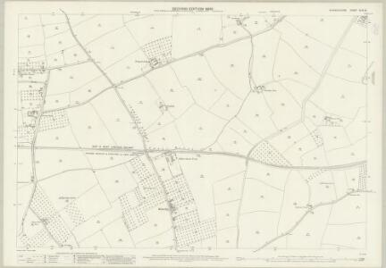 Warwickshire XLIII.10 (includes: Bidford on Avon; Exhall; Temple Grafton; Wixford) - 25 Inch Map
