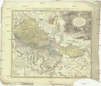 Tabvla geographica exhibens regnvm Sclavoniae cum Syrmii ducatu