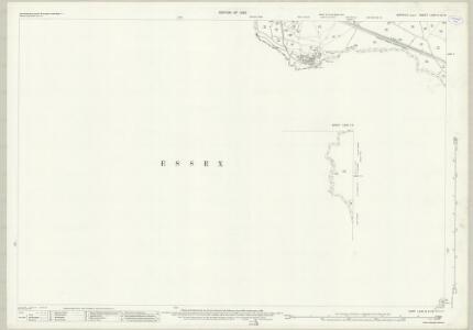 Suffolk LXXII.6 & 10 (includes: Belchamp Walter; Borley; Foxearth; Liston; Long Melford) - 25 Inch Map