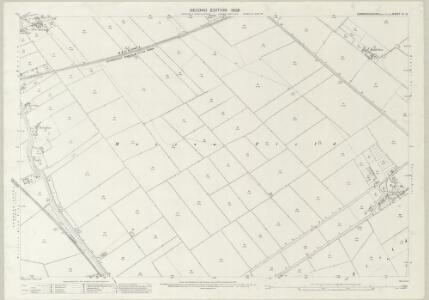 Cambridgeshire VI.12 (includes: Parson Drove; Wisbech St Mary) - 25 Inch Map
