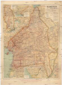 Kamerun mit Togo 1:2 000 000