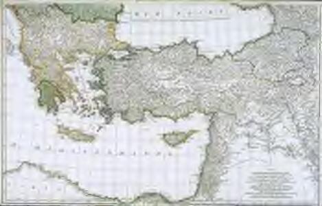 Troisième partie de la carte d'Europe contenant le midi de la Russie, la Pologne et la Hongrie, la Turquie y compris celle d'Asie presqu'entière, 2