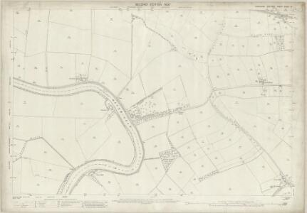 Yorkshire CCXXI.12 (includes: Barlby; Barlow; Cliffe; Selby) - 25 Inch Map