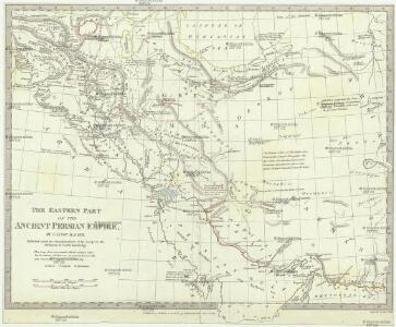 The eastern part of the ancient Persian empire