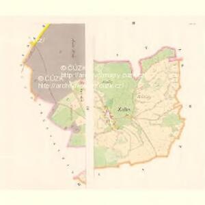 Zalles (Zalezla) - c9105-1-003 - Kaiserpflichtexemplar der Landkarten des stabilen Katasters
