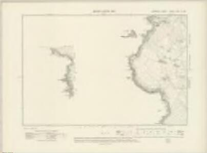 Cornwall LXXXIV.NW & SW - OS Six-Inch Map