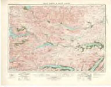 Glen Shiel  & Glen Garry (41) - OS One-Inch map