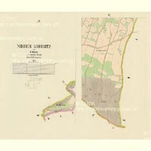Nieder Kreibitz - c1298-1-005 - Kaiserpflichtexemplar der Landkarten des stabilen Katasters