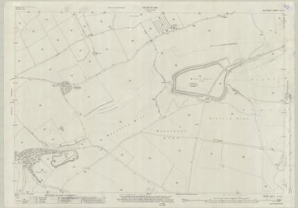 Wiltshire XLV.5 (includes: Bratton; Westbury) - 25 Inch Map