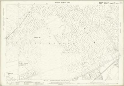 Berkshire XLVII.14 (includes: Crowthorne; Frimley; Windlesham) - 25 Inch Map