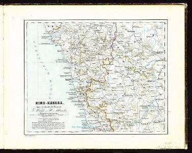 Atlas der evangelischen Missionsgesellschaft in Basel mit Angabe der Verbreitung der Hauptreligionen7.Nord-Kanara