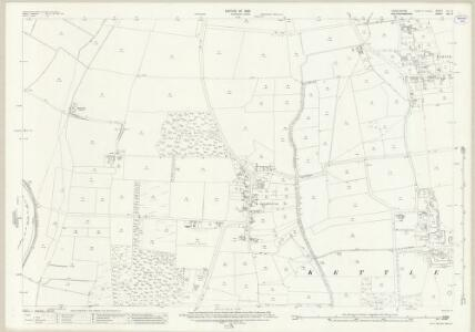 Lincolnshire LX.9 (includes: Fenton; Kettlethorpe; Newton on Trent) - 25 Inch Map