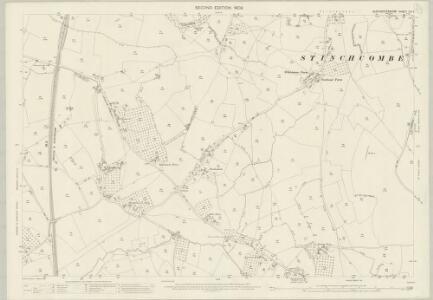 Gloucestershire LVI.2 (includes: Alkington; North Nibley; Stinchcombe) - 25 Inch Map