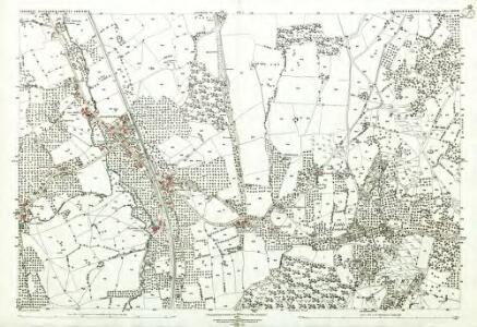 Gloucestershire XXIV.13 (includes: Blaisdon; Huntley; Longhope) - 25 Inch Map
