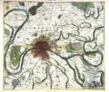 Typus choro-topographicus regiæ et totius orbis celeberrimæ urbis Lutetiæ parisiorum
