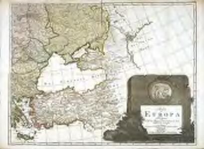 Karte von Europa, 4