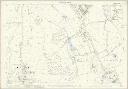 London (Edition of 1894-96) CLVI (includes: Bromley) - 25 Inch Map