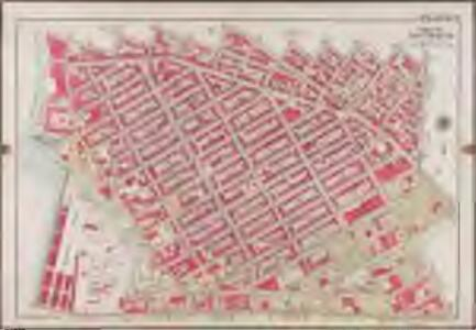 Plate 9: [Bounded by S. 11th Street, Berry Street, S. 10th Street, Bedford Avenue, S. Ninth Street, Roebling Street, Broadway, Marcy Avenue, S. Fifth Street, Rodney Street, S. Fourth Street, Keap Street, S. Third Street, Hooper Street, S. Second Street, Union Avenue, Broadway, Throop Avenue, Lorimer Street, Harrison Avenue, Flushing Avenue, Washington Avenue & and Kent Avenue.]; Atlas of the borough of Brooklyn, city of New York: from actual surveys and official plans by George W. and Walter S. Bromley.