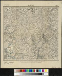 Meßtischblatt 2303 : Zellerfeld, 1919
