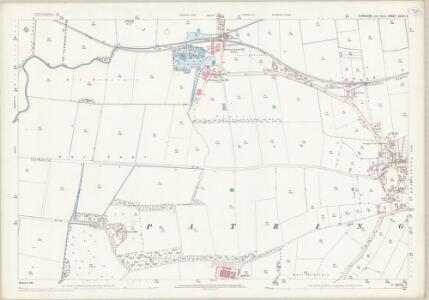 Yorkshire CCLVI.3 (includes: Patrington) - 25 Inch Map
