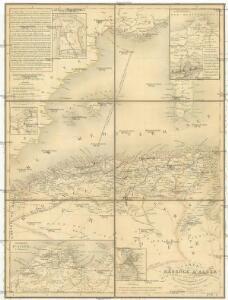 Carte de la Régence d'Alger et d'une partie du bassin de la Méditerranée