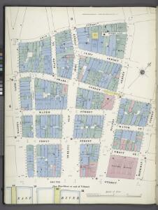 Manhattan, V. 1, Plate No. 5 south half [Map bounded by Gold St., Beekman St., South St., Maiden Lane]