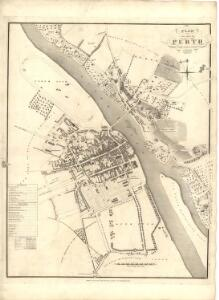 Plan of the City of Perth from actual survey.