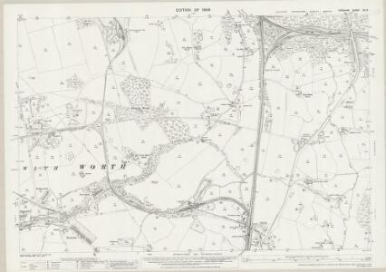 Cheshire XX.13 (includes: Lyme Handley; Marple; Poynton with Worth) - 25 Inch Map
