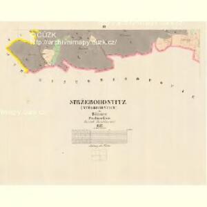 Stržebohostitz (Střebohostice) - c8041-1-003 - Kaiserpflichtexemplar der Landkarten des stabilen Katasters