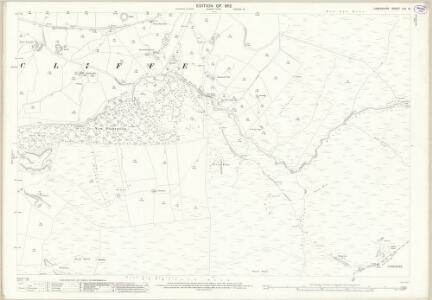 Lancashire LVII.13 (includes: Briercliffe) - 25 Inch Map